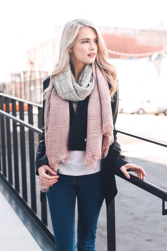 Kendall Scarf - Pink