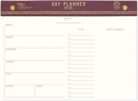 Eggplant Day Planner