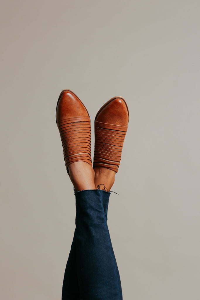 Alana Booties - Whiskey