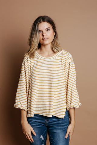 Alina Striped Top