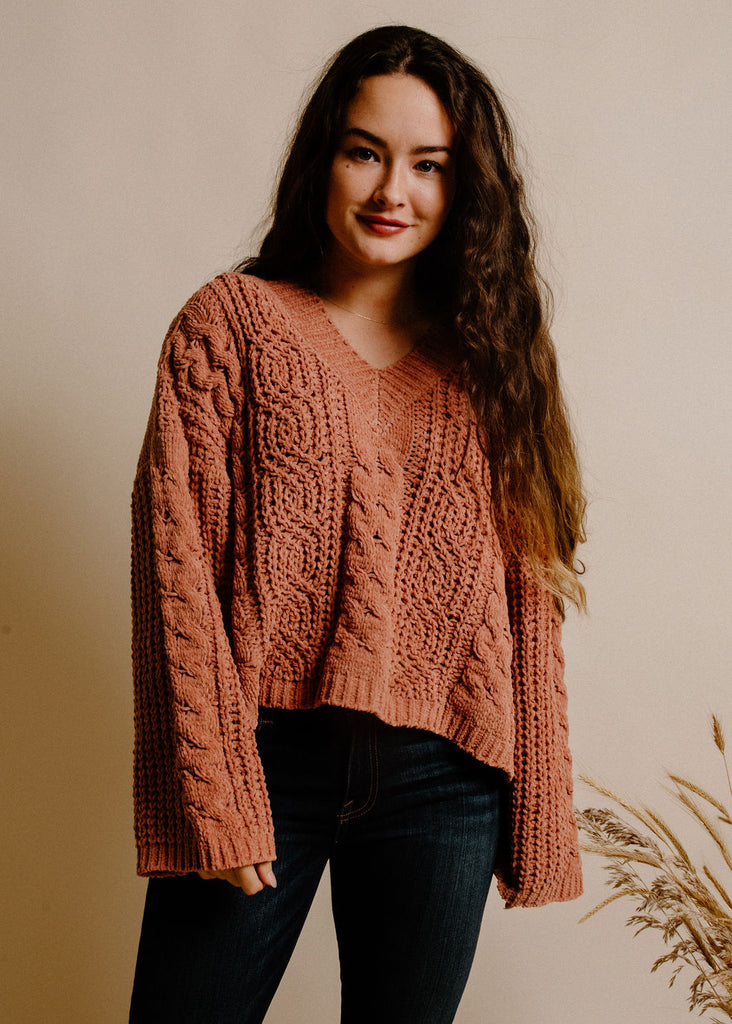 Allyson Sweater - Clay