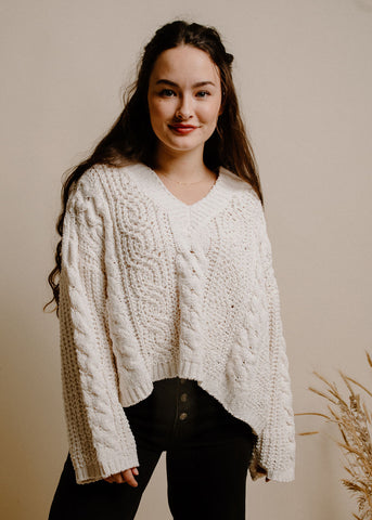 Allyson Sweater - Cream