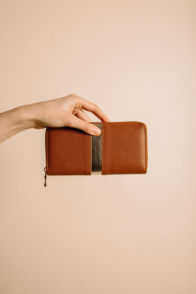 Arlington Wallet - Camel