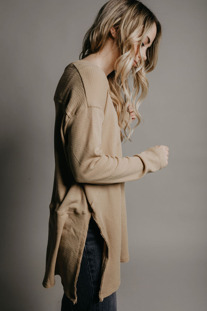 Asher Top - Camel