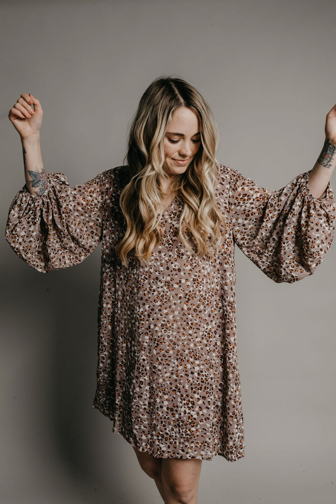 Atlee Dress - Taupe
