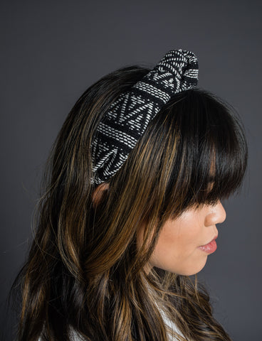 Aztec Headband - Black