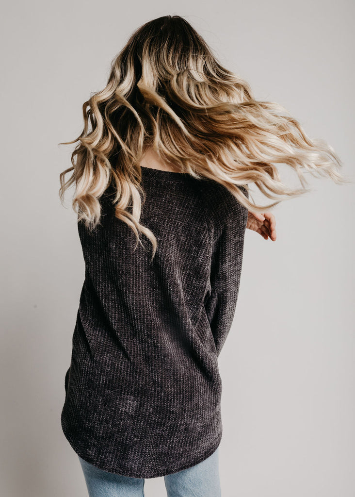 Baker Sweater - Charcoal
