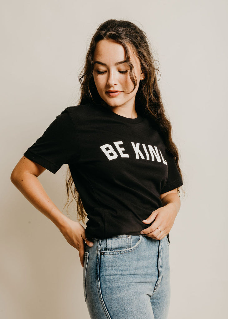 Be Kind Tee - Black