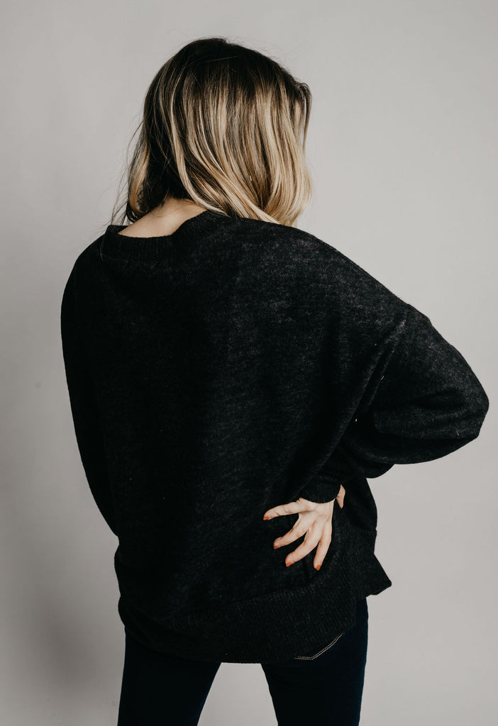 Belle Tunic - Charcoal
