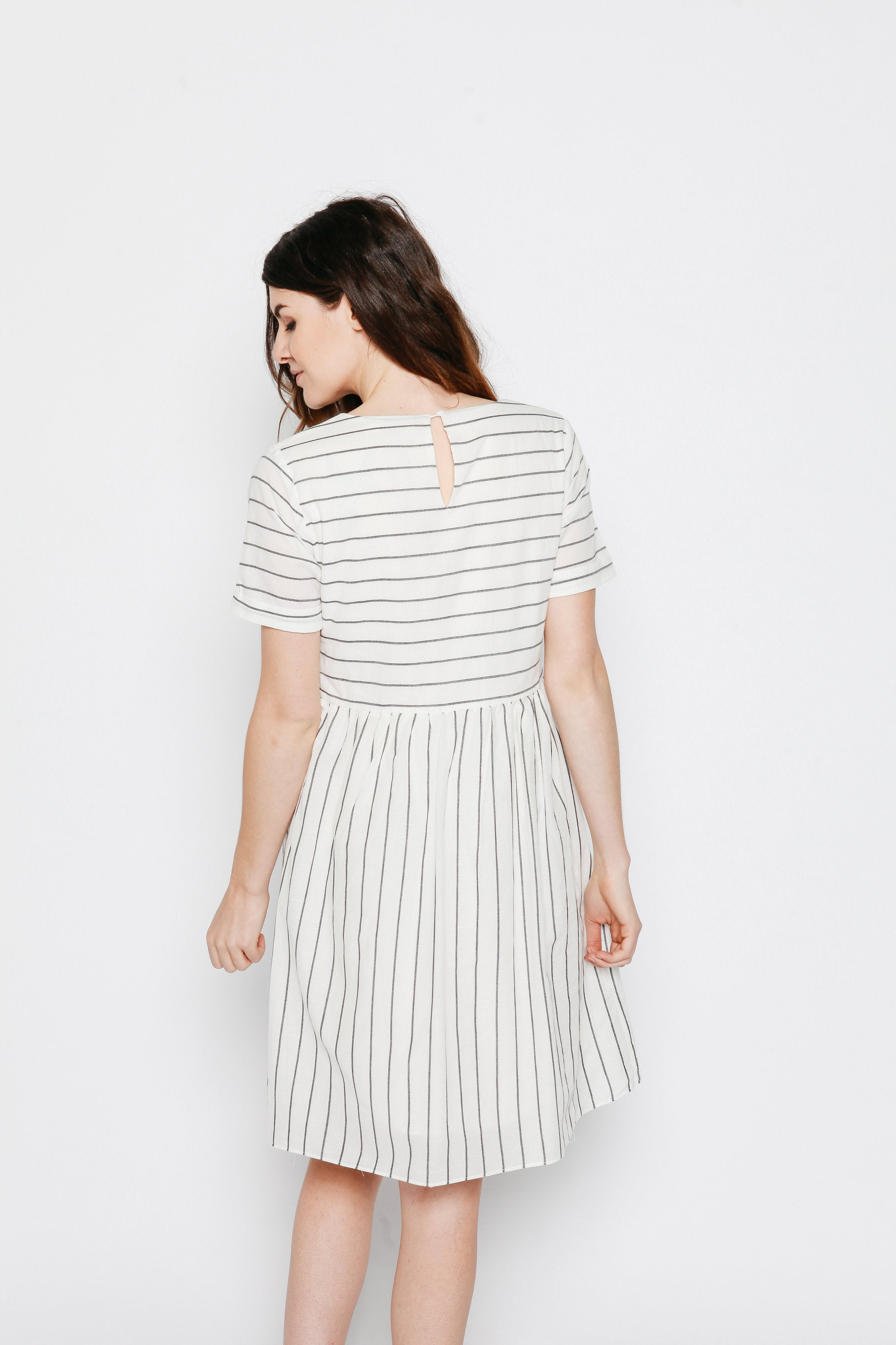 Billy Striped Dress Dresses - Vinnie Louise