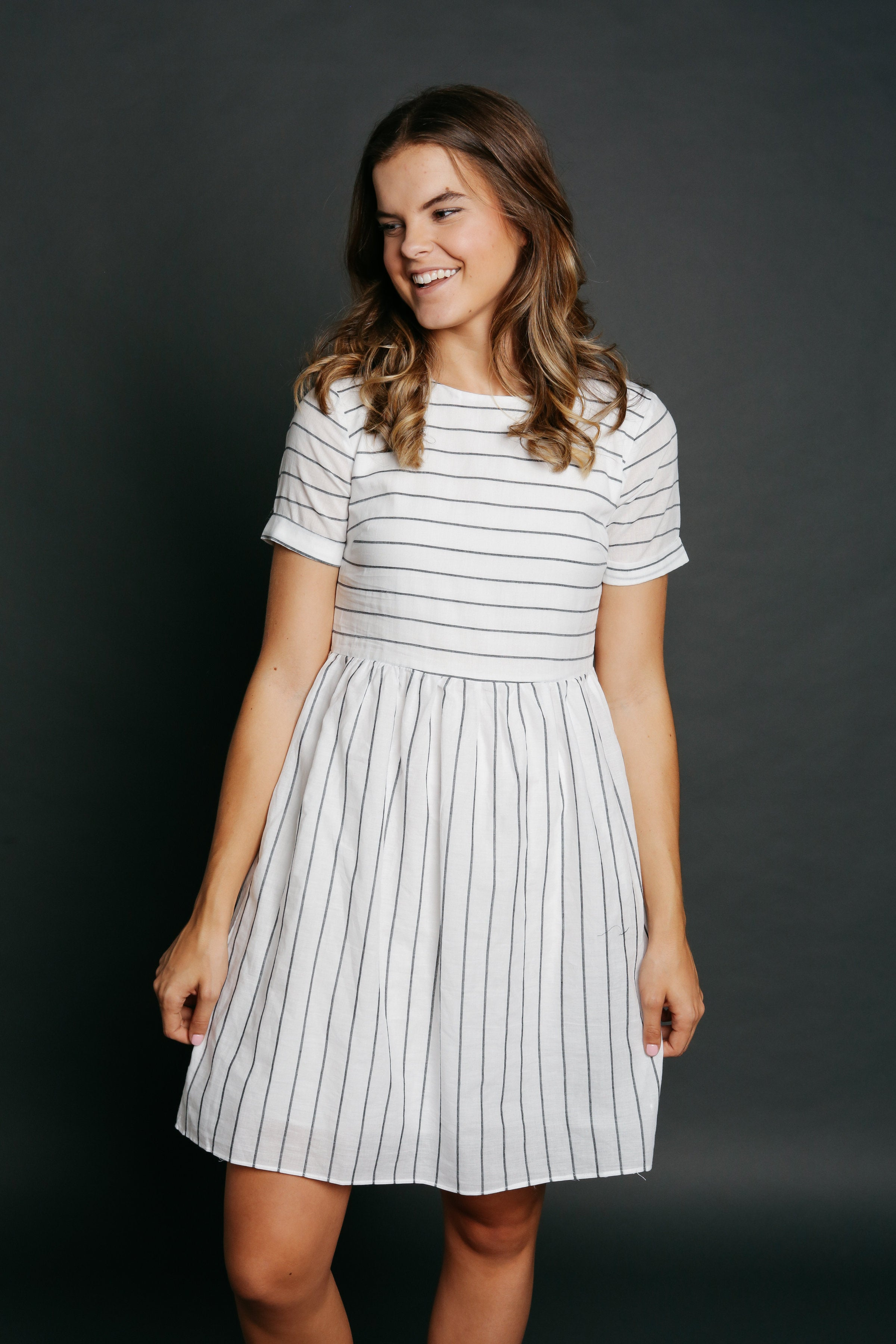 Billy Striped Dress