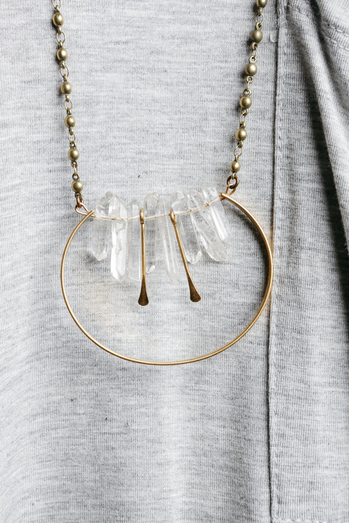 Binah Crystal Necklace