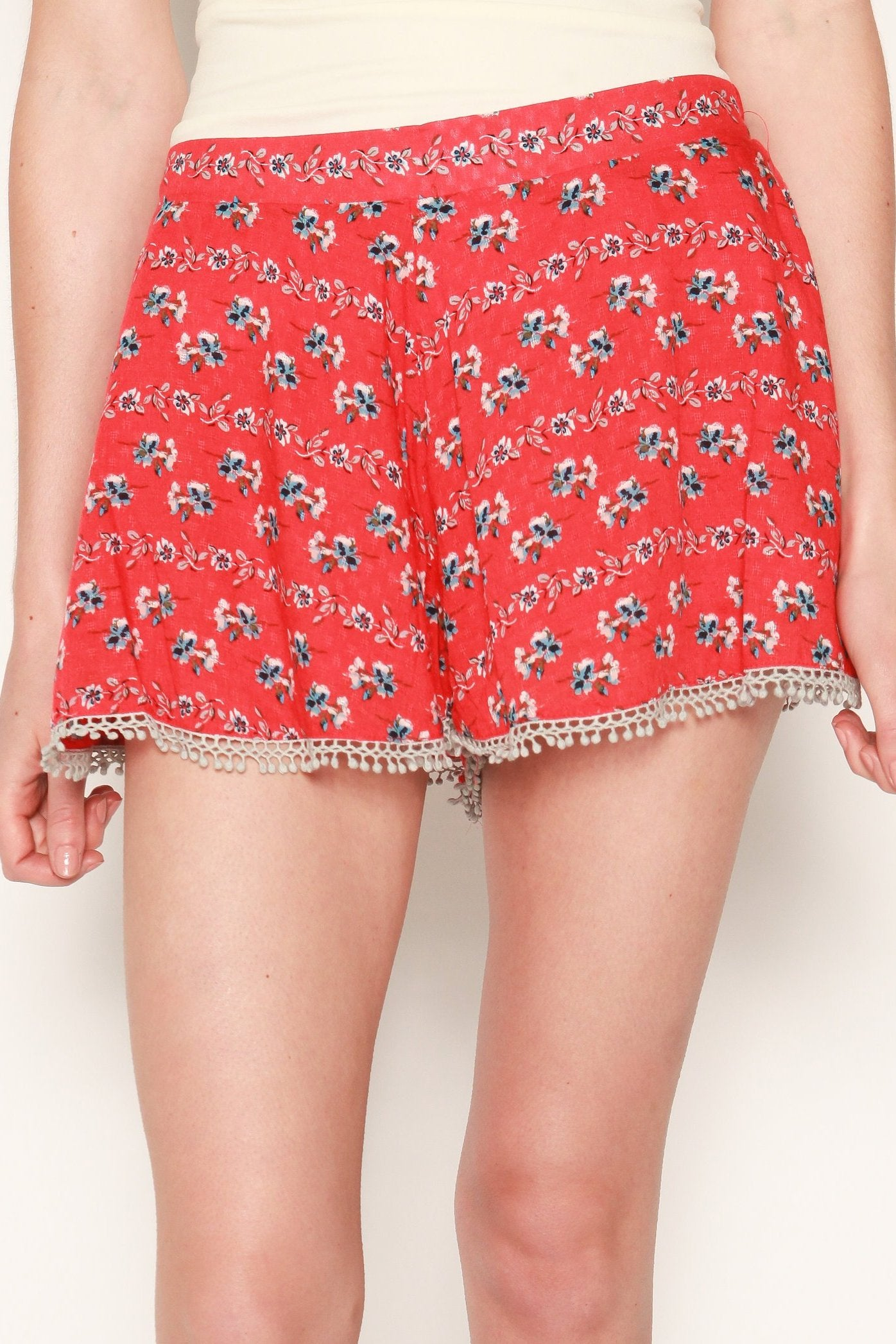 Bizzy Floral Shorts