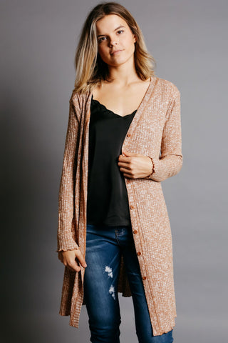 Brielle Cardigan - Camel