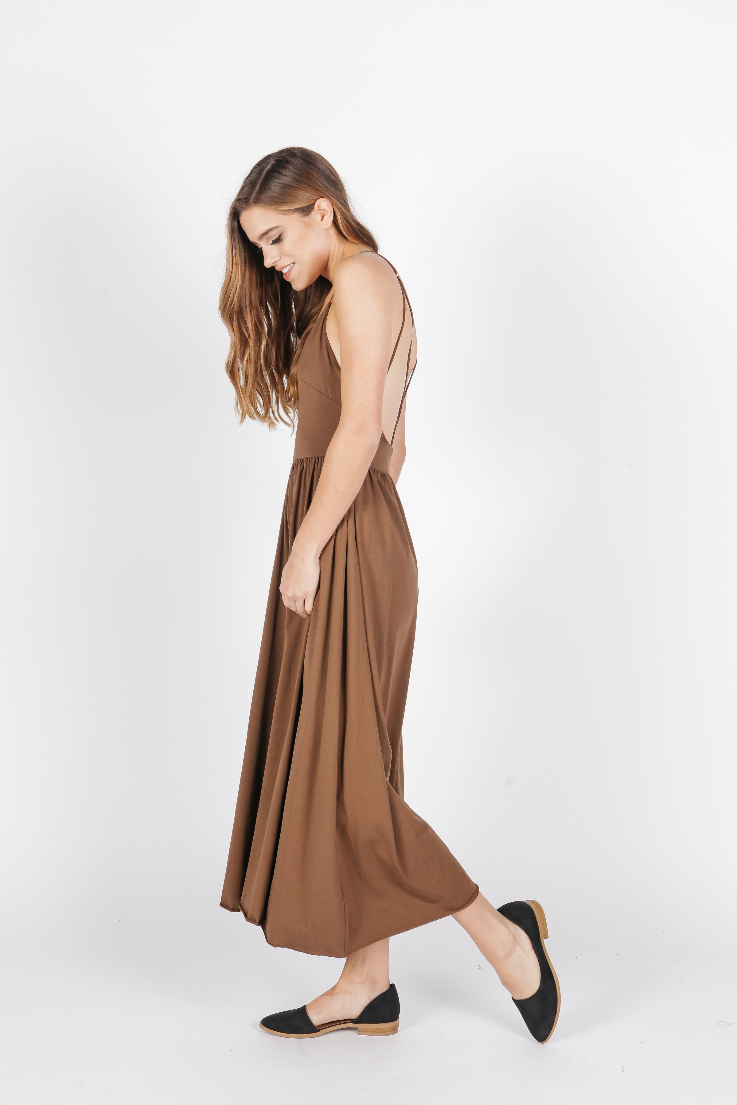 Britt Jumpsuit - Coffee