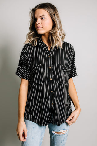 Britton Top - Black