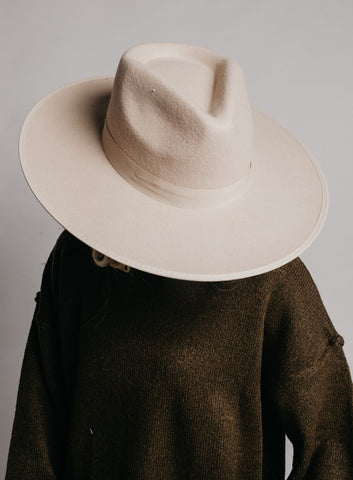 Brunswick Hat - Cream