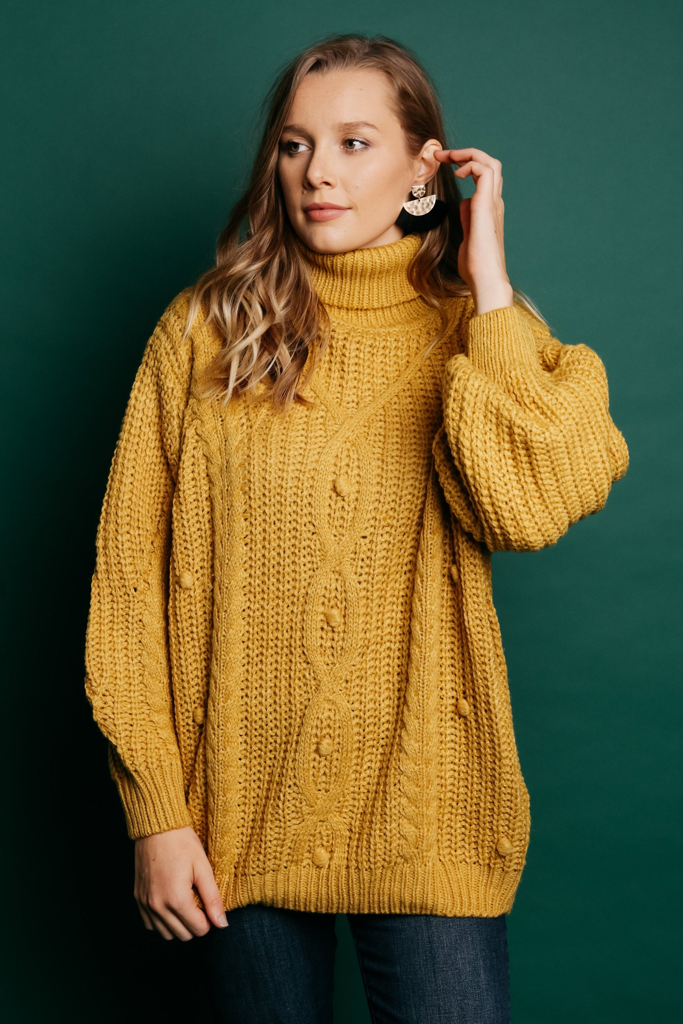 Libby Sweater - Mustard