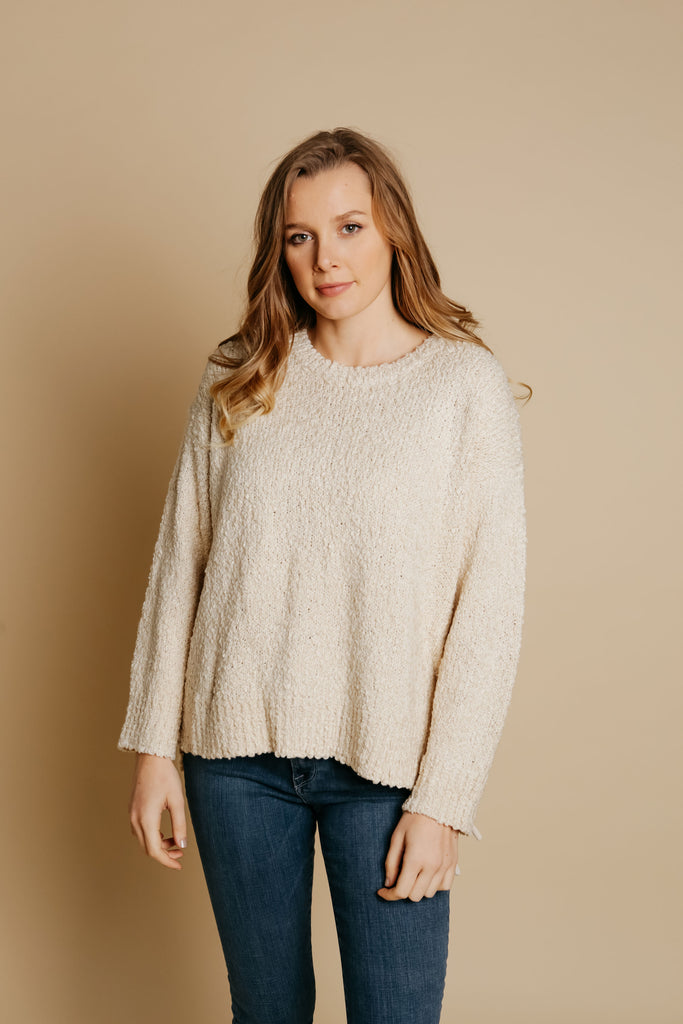 Cali Sweater - Cream