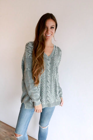Cambridge Mineral Wash Sweater