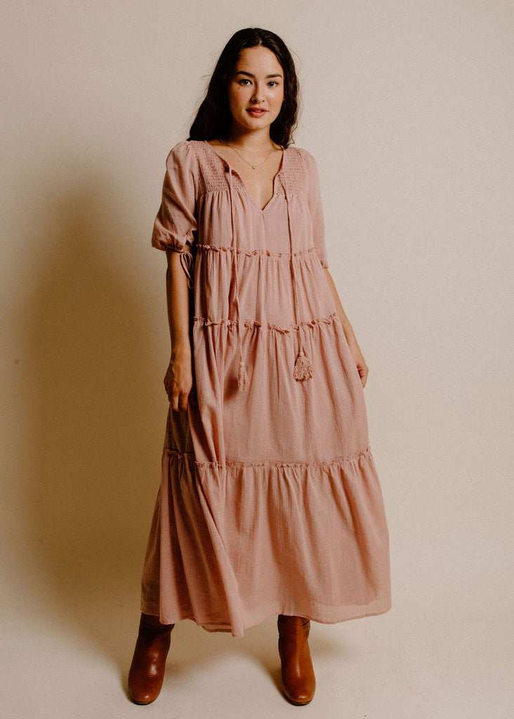 Cameron Dress - Blush