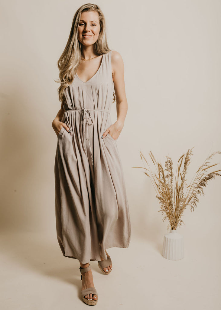 Campbell Jumpsuit - Silver