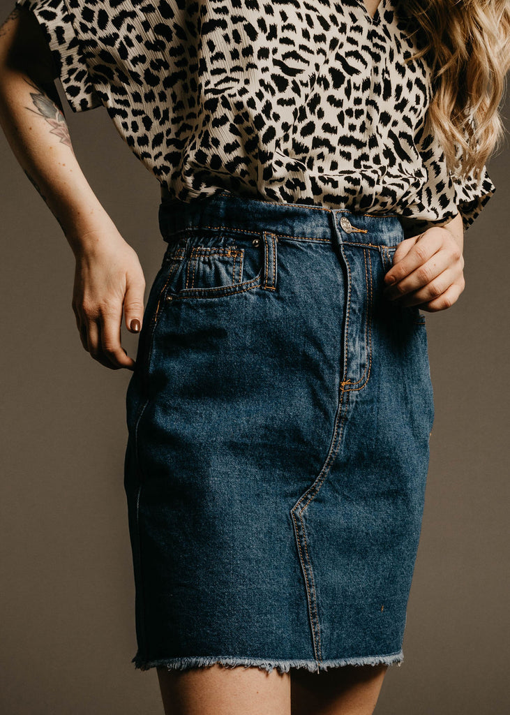Carmen Skirt - Denim