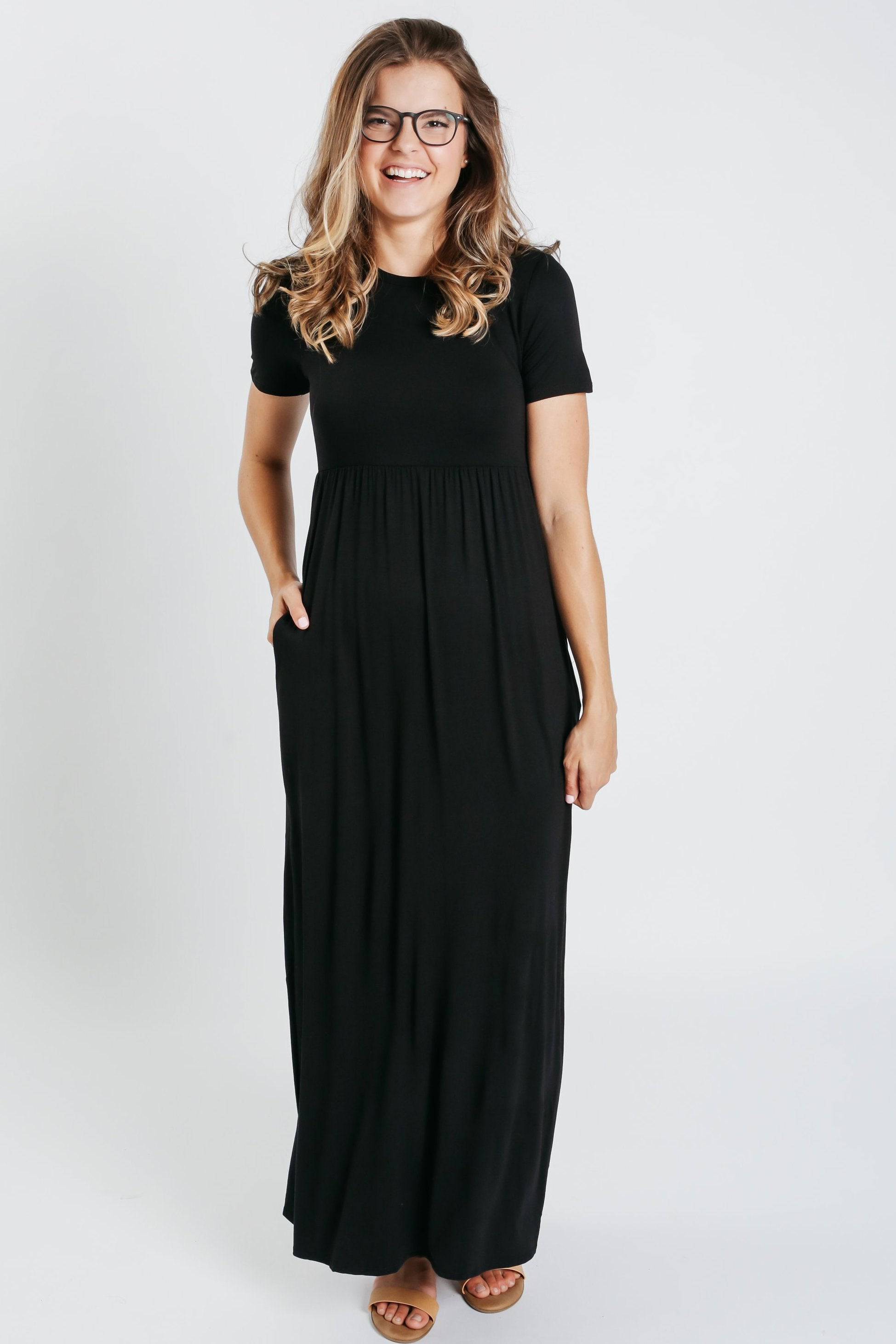 Cassandra Maxi Dress - Black