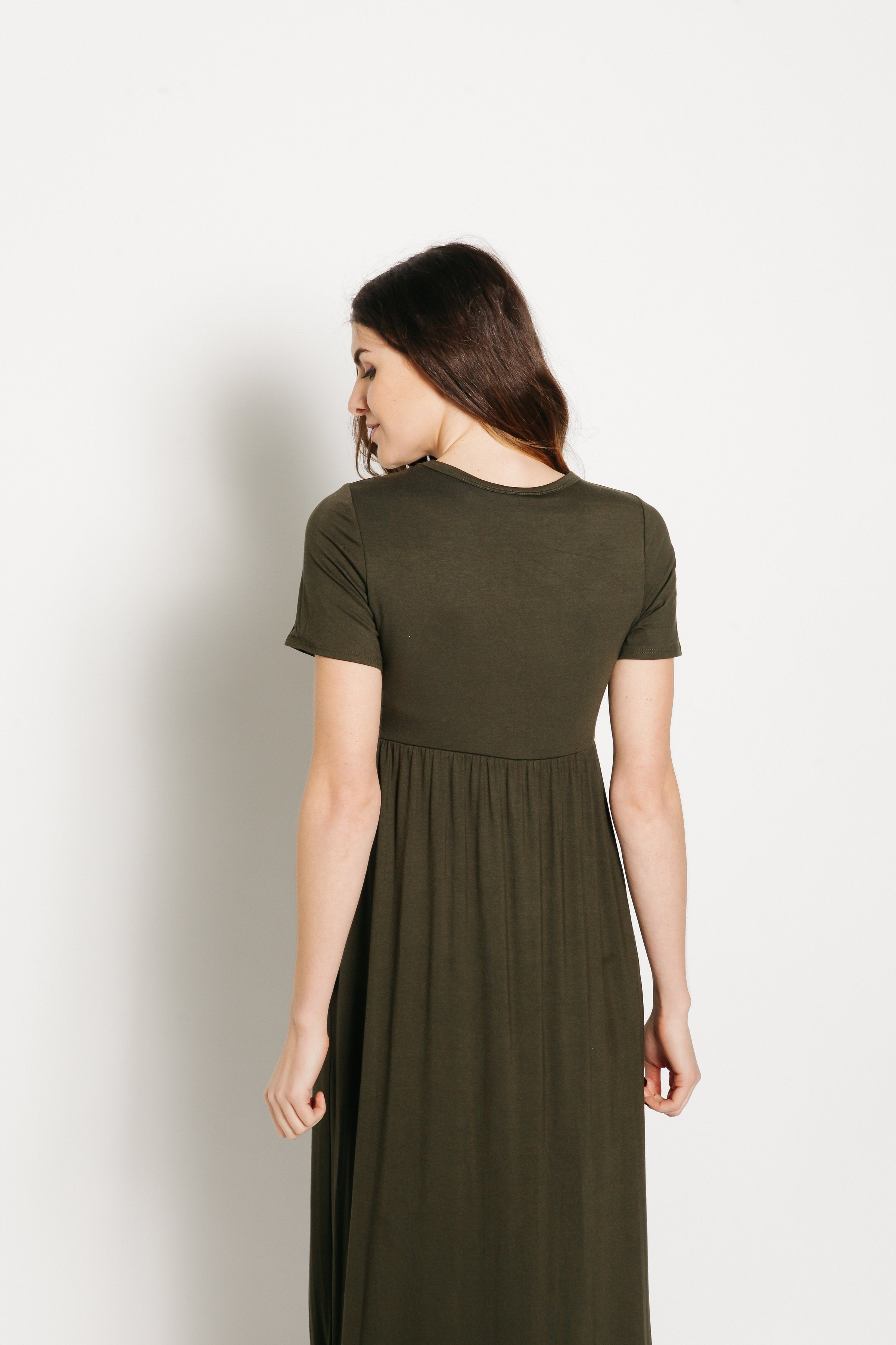 Cassandra Maxi Dress - Olive