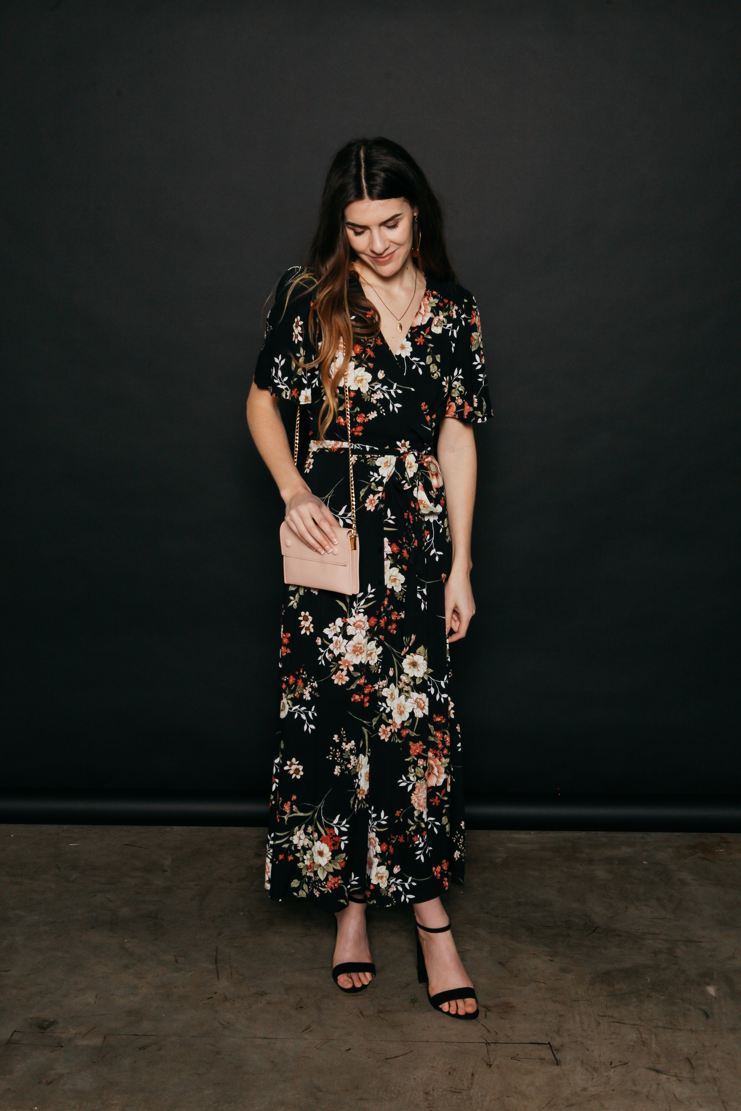 Cecily Floral Maxi Dress