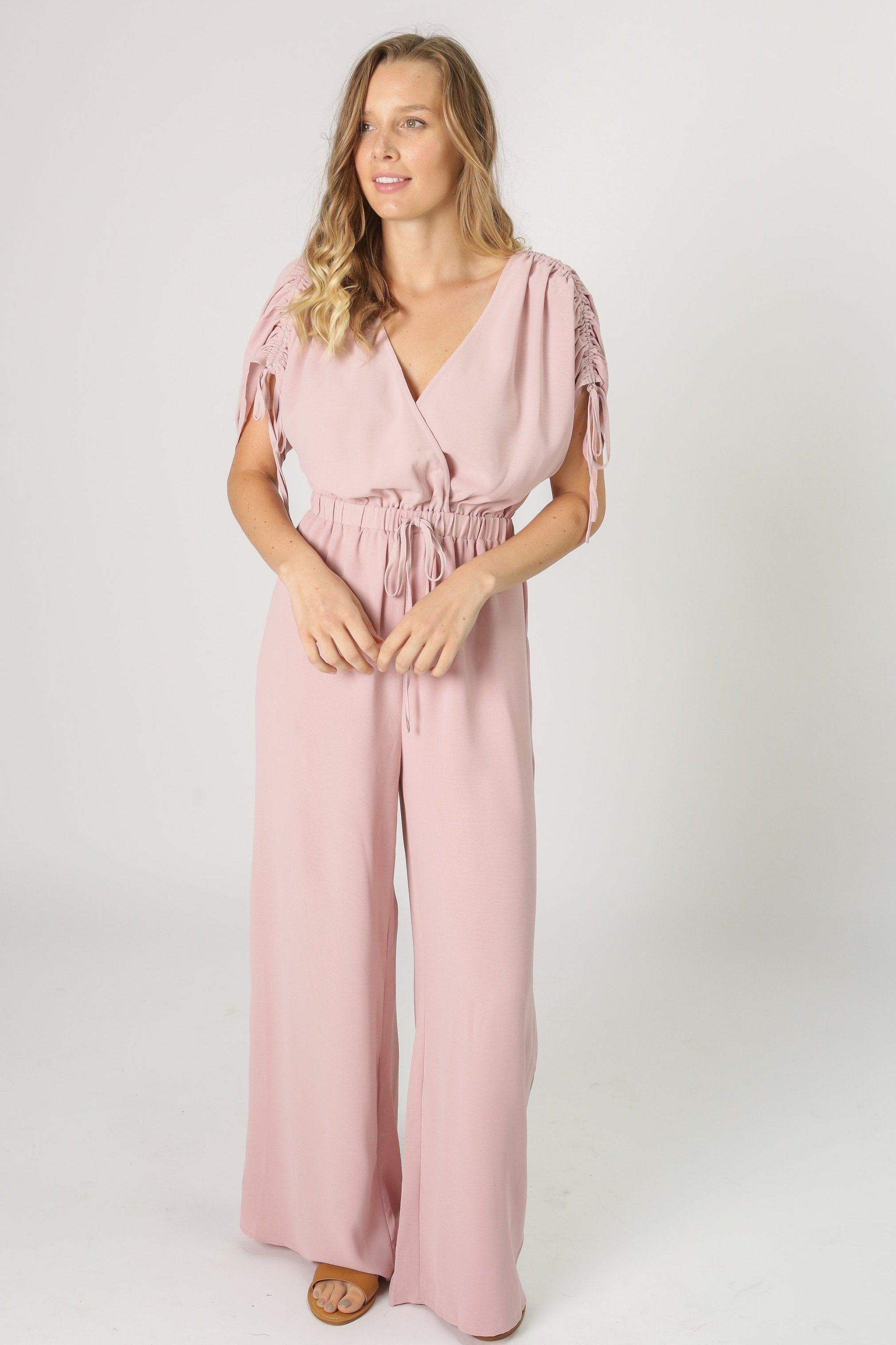 Chrissy Jumpsuit - Rose