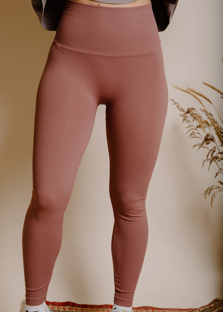 Clara Leggings - Mauve