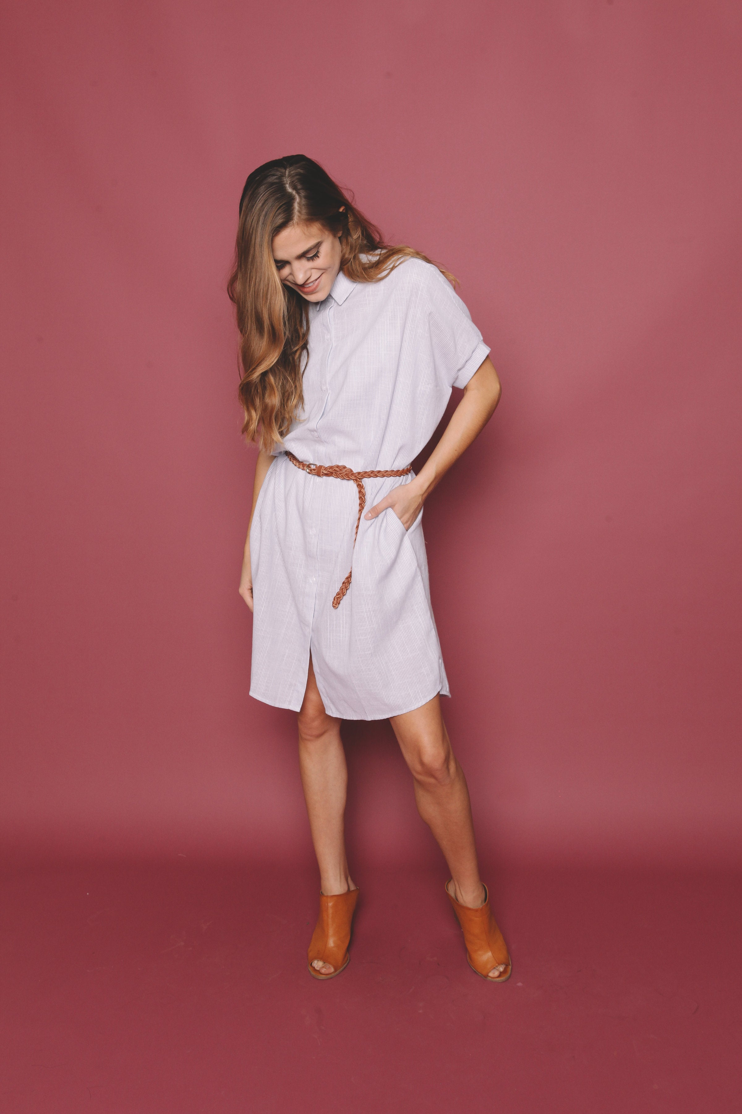 Cole Shirt Dress