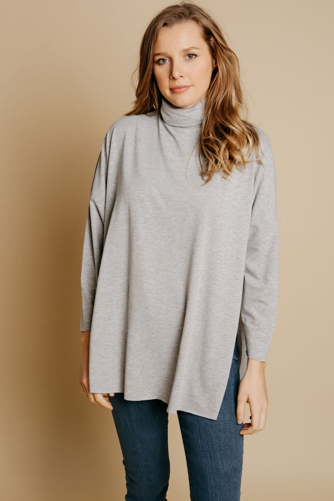 Cordelia Top - Grey