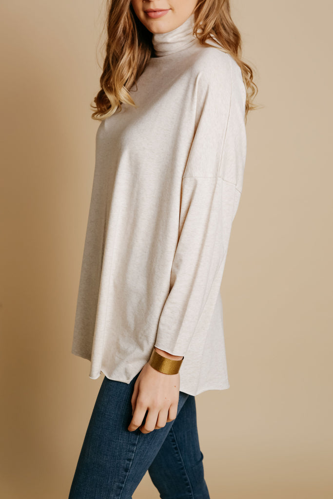 Cordelia Top - Oatmeal