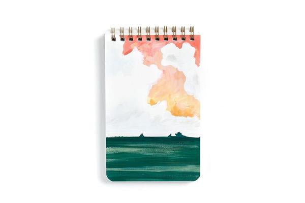 Large Sun Valley Spiral Notebook