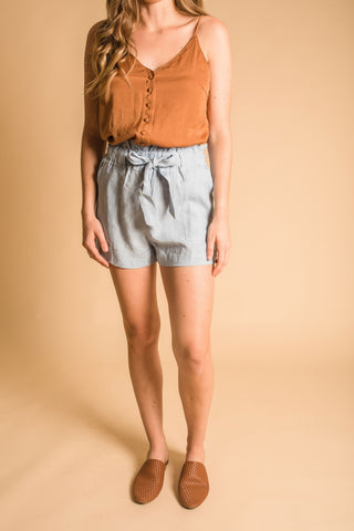 Daisy Shorts- Blue