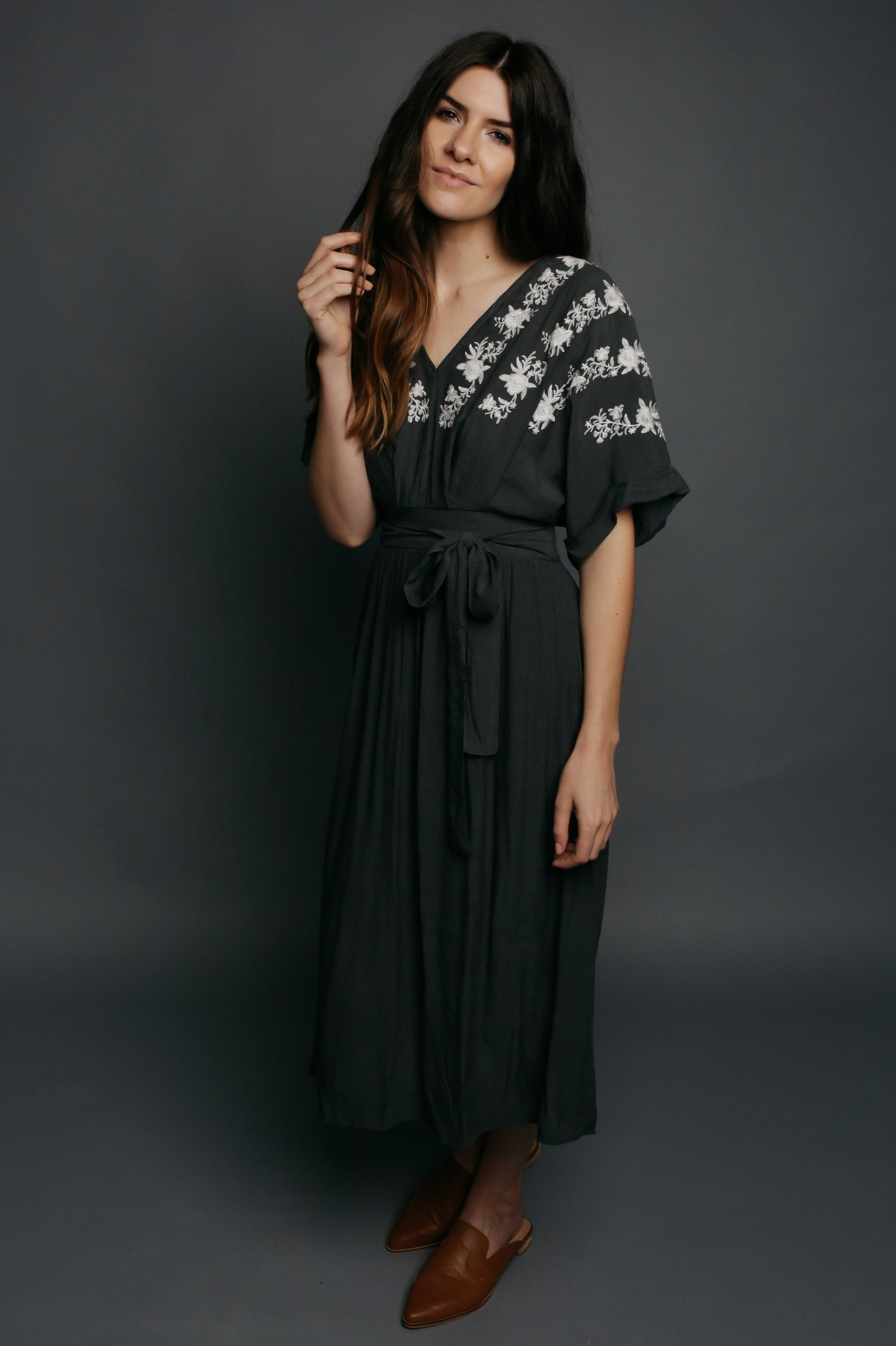 Danyell Embroidered Dress