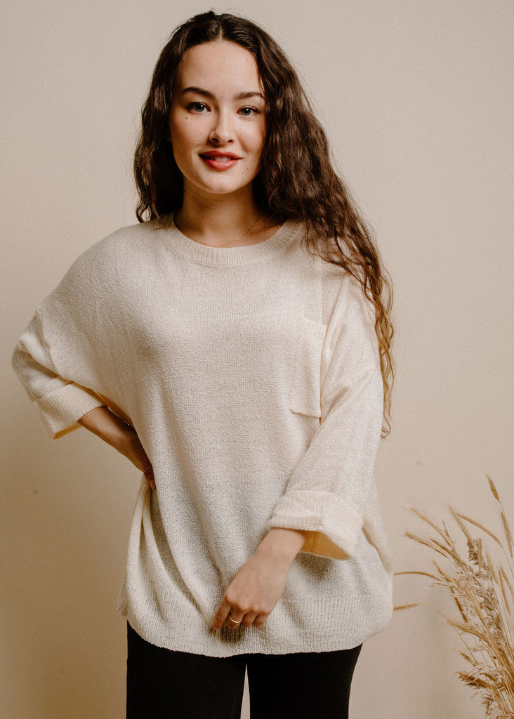 Davenport Sweater - Cream