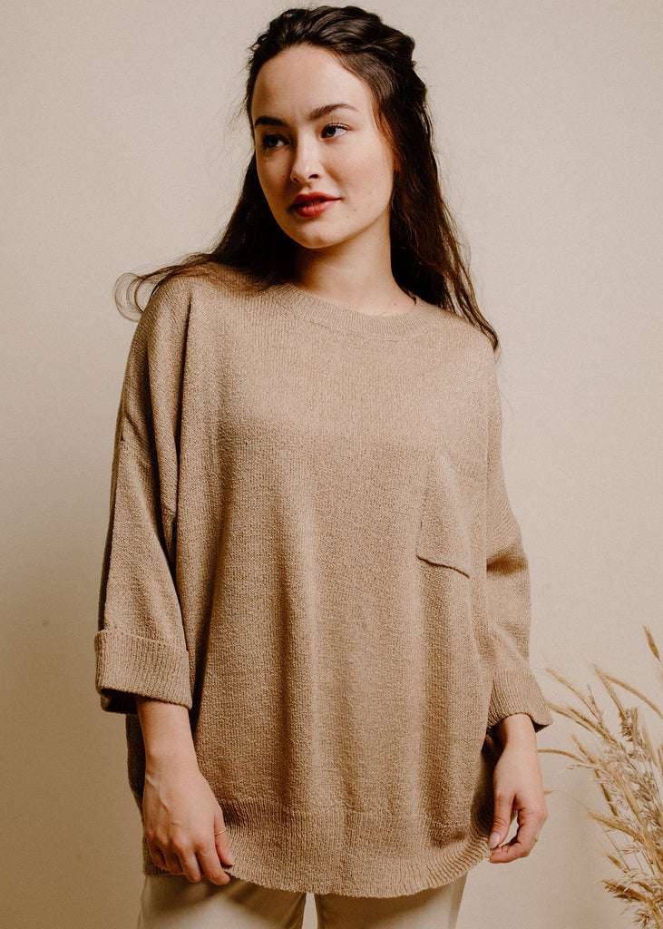 Davenport Sweater - Light Mocha