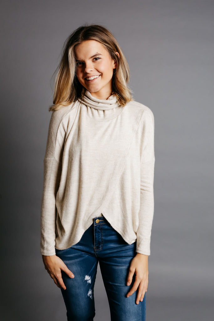 Diana Sweater - Oatmeal