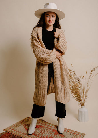 Dust in the Wind Cardigan - Natural