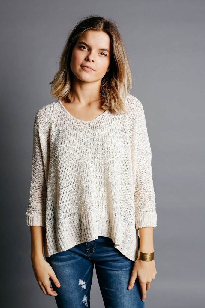 Dylan Sweater - Cream