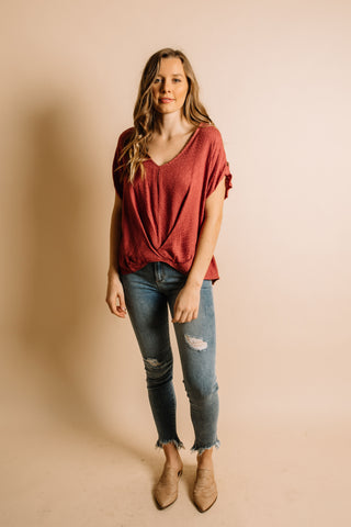 Echo Blouse - Rose