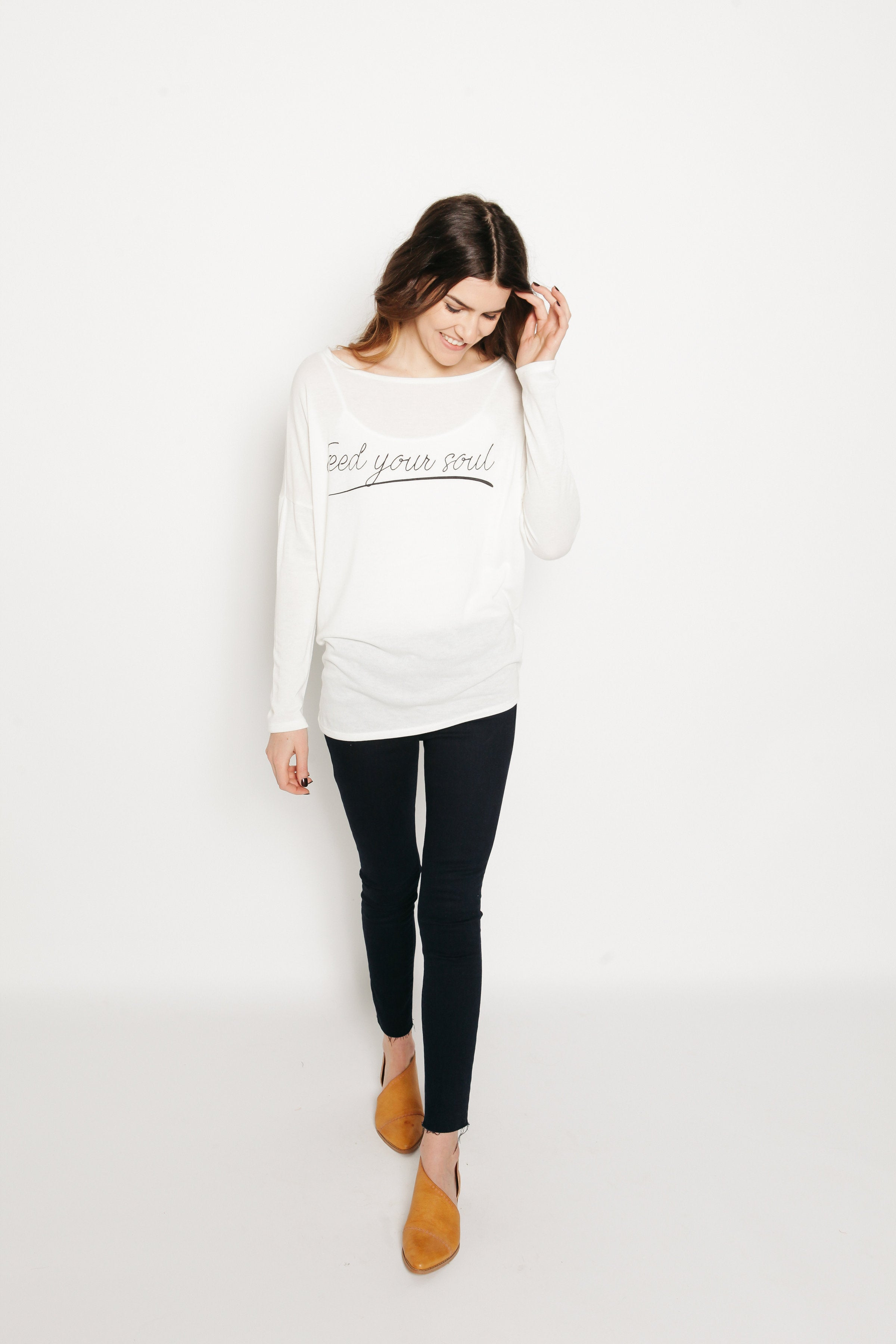 Feed Your Soul Long Sleeve Tee