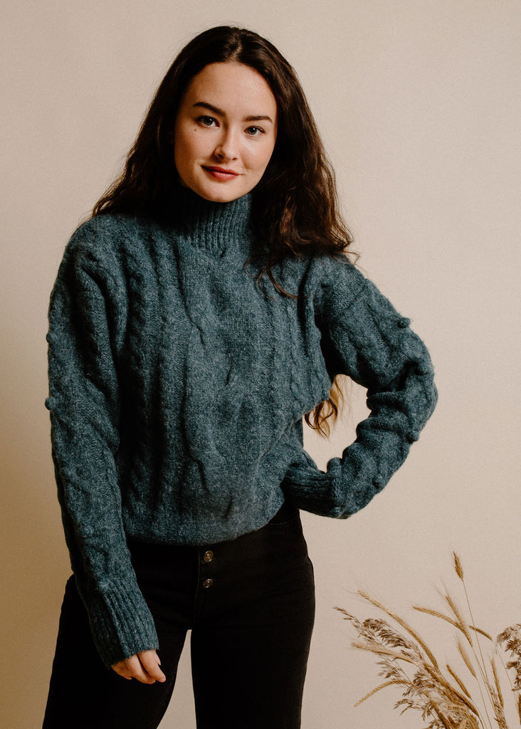 Felicity Sweater - Teal
