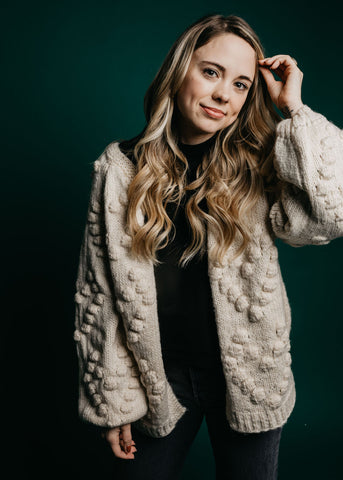 Finley Cardigan - Cream