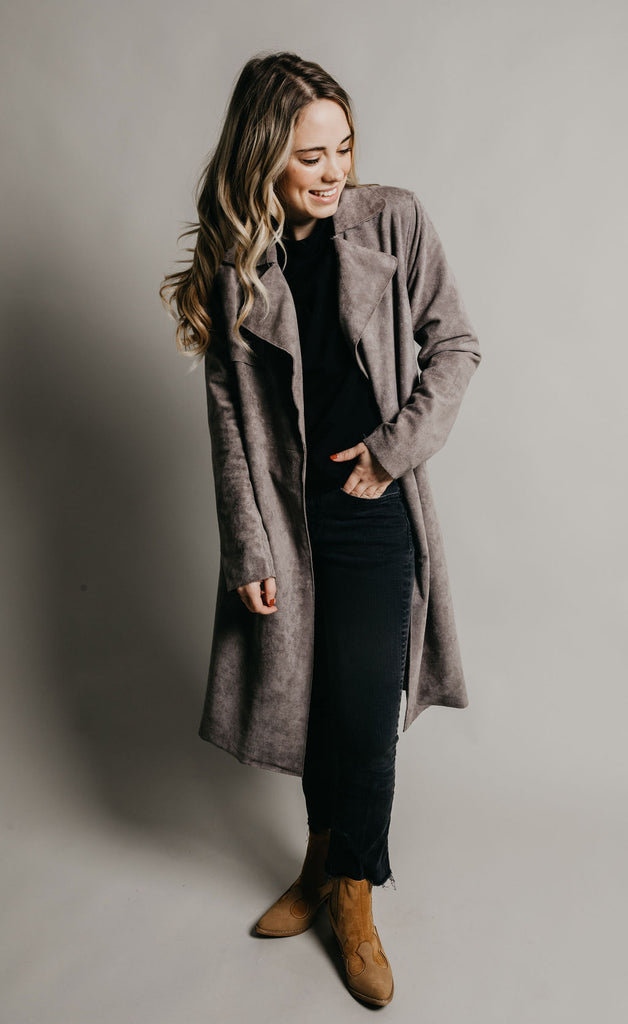 Foster Coat - Grey