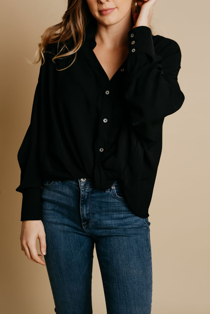 Gemma Blouse - Black