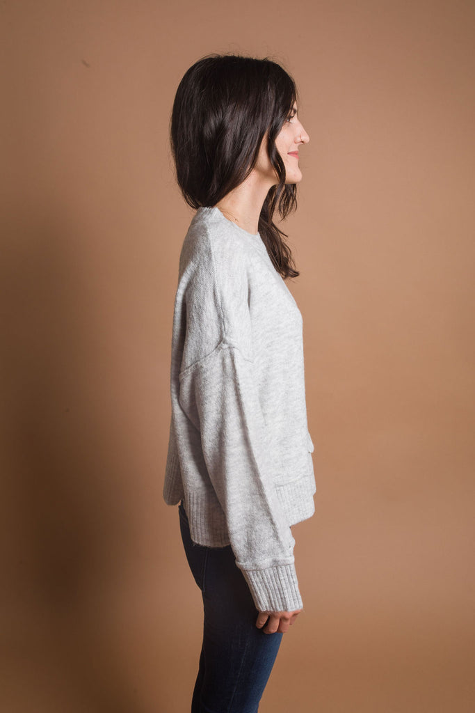 Giselle Top - Grey
